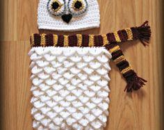 Amigurumi Crochet Owl Animal Bird Kokeshi Doll Pattern by Sylemn