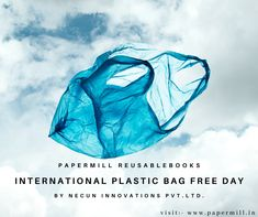 Plastic pollution is a global catastrophe and sadly it is a man-made one. Did you know that approximately 500 billion plastic bags are used on a global scale? Just think about how many of these bags will end up littered all over the planet. This is having an extremely detrimental effect on the environment, wildlife and indeed human health.  Our product papermill reusable notebook is also very helpfull to build healthy environment.