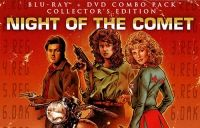 """Cheesy B-Movie Goodness: """"Night of the Comet"""". A comet wipes out most of life on Earth, leaving two Valley Girls to fight the evil types who survive. A classic end of the world Sci Fi film """"Night of the Comet"""" finds its way to Blu-ray thanks to Scream Factory, the horror-thriller offshoot of independent film distributor Shout Factory."""
