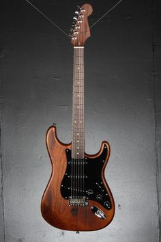 Fender's special edition Reclaimed Eastern Pine Stratocaster has a distinctively rustic look and elegant charm, with a body fashioned from reclaimed pine originally used in 1868 in the construction of a dairy barn in the small rural community of Lake Odessa, Mich. The knots, gashes, dings and other anomalies in the wood are left intact and unconcealed, so that no two guitars in this limited-number issue are identical.