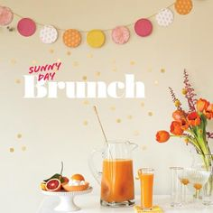 How To Throw A Sunny Day Brunch Party | CookingLight.com