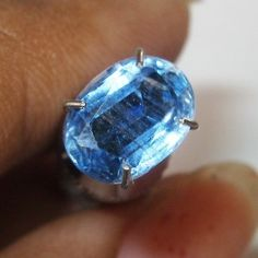 Kyanite Biru Indah Elegan 1.56 carat