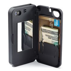 iPhone Secret Wallet-now if it had spot for my lip stuff