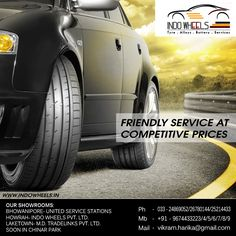 INDO WHEELS- FRIENDLY SERVICE AT COMPETITIVE PRICES Visit US at: www.indowheels.in Or Call Us at: 91 9674433223