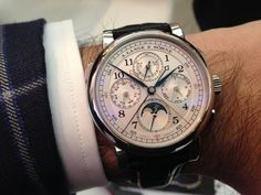 A. Lange & Söhne - Lange 1815 Rattrapante Perpetual in PT