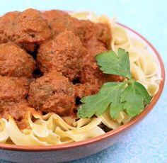 Slow Cooker Hungarian Goulash Meatballs | Serve this recipe at your next dinner party!