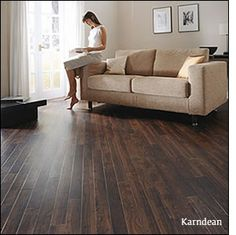 Does anyone have porcelain tile that looks like wood?