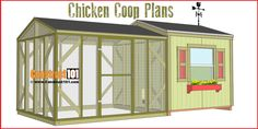 Large Chicken Coop Plans – Step-By-Step
