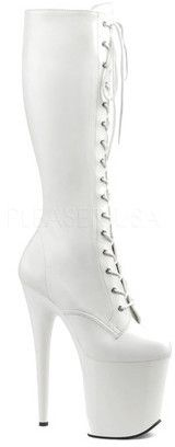Women's Pleaser Flamingo 2023 Knee Boot-Pole Dancing Sexy Stripper Shoes Heels