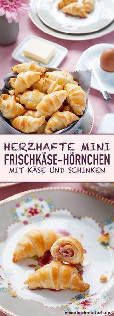 Mini-Frischkäse-Hörnchen - www.emmikochteinfach.de
