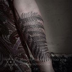 (at Bang Bang Custom Tattoo Shop) Old Tattoos, Small Tattoos, Fern Tattoo, Like A Sir, Tattoos Gallery, Custom Tattoo, Tattoo Shop, Tatting, Body Art