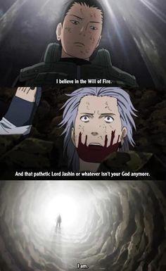 Shikamaru vs Hidan