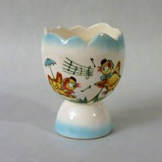 Singing Ens Double Egg Cup From An
