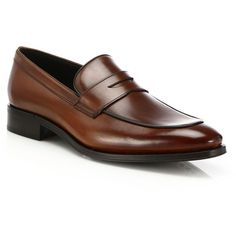 90a0d48fe25 To Boot New York Dupont Penny Loafers ( 365) ❤ liked on Polyvore featuring  men s