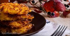 As you start planning out your holiday menu, I've got the perfect side dish option: Root Veggie Latkes! They're my  . . . Read more