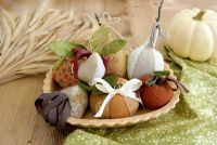Harvest Table Pincushions by Joanna Figueroa