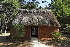 Indigenous home in Guatemala