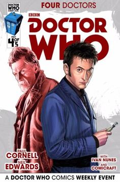 Four Doctors #4 (Cafe Anime Variant Cover by Mariano Laclaustra).
