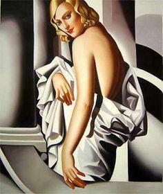 Tamara Lempicka Art Deco Goddess