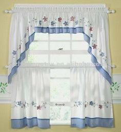 Kitchen Curtains Can Improve the Appearance of Your Kitchen - Life ideas Drapes Curtains, Minimalist Bedroom, Curtains, Diy Curtains, Curtains And Draperies, Home Decor, Shabby Chic Kitchen, Kitchen Curtains, Home Deco