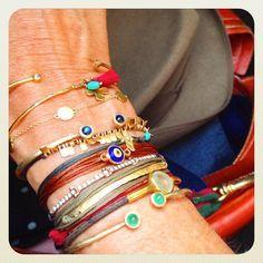 ines de la fressange bracelets - Google Search