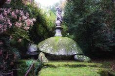 Bomarzo Gardens #enchantedforest #turtle #giant #bomarzo #parcodeimostri #viterbo #tuscia #lazioisme @visit_lazio #roadmance #fairytale
