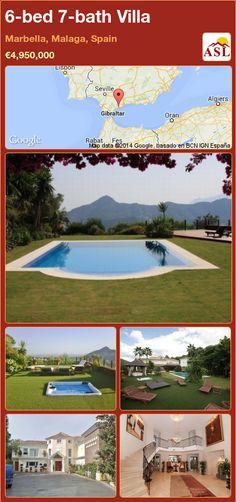 6-bed 7-bath Villa in Marbella, Malaga, Spain ►€4,950,000 #PropertyForSaleInSpain
