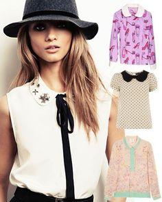 hats, fashion outfits, annaselezneva, anna selezneva, collar, mango, fall styles, fashion campaigns, style fashion