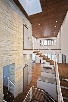 Contemporary Custom waterfront home design by Design Styles Architecture