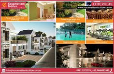 Contact Us For Ongoing Villa Project Details In Kottayam Phone : 9447000421 Email : info@kosamattambuilders.com... See More