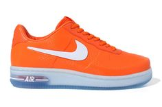 Nike Air Force 1 Low Foamposite – Orange/White