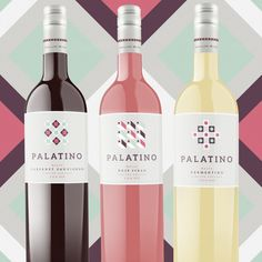 Palatino Wines — The Dieline - Package Design Resource