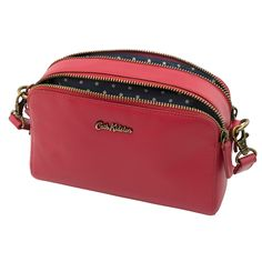 Mini Leather Double Zip Bag Gifts Under 50 Cathkidston Cath Kidston Accessories