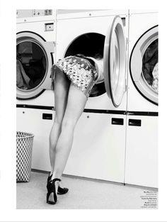 wash away: isabel scholten and milou sluis by karen rosetzsky for l'officiel nl august 2014