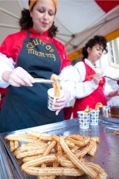 Churros Garcia - London Street Food   - Explore the World with Travel Nerd Nici, one Country at a Time. http://TravelNerdNici.com