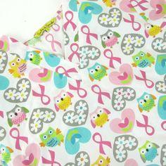 Owl Pink Ribbon Scrub Top Size Small Women's 2 Pockets Breast Cancer Hearts #SmilesScrubs Scrub Tops, Breast Cancer, Scrubs, Owl, Ribbon, Hearts, Kids Rugs, Pockets, Pink