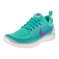 new product 43a5a 6beec Nike Women s Free Rn Distance 2 Running Shoe (9), Blue