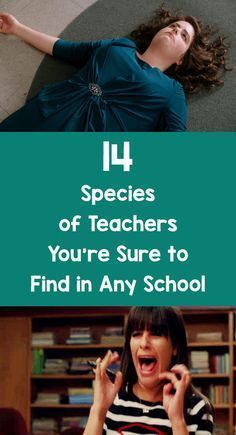 14 Species of Teachers You're Sure to Find in Any School – Bored Teachers