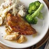 Slow-Cooker Bacon-Ranch Chicken and Pasta recipe from Betty Crocker