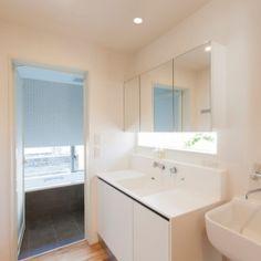 船橋の家の部屋 洗面室
