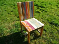 Reclaimed Wood Chair by The Wood Caboodle