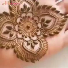 Whether you're looking to enhance your artistic skills or decorate yourself for personal or professional use, Indian Mehndi Henna Tattoo Paste Cone is just wha Basic Mehndi Designs, Henna Designs Feet, Mehndi Designs For Beginners, Mehndi Designs For Fingers, Latest Mehndi Designs, Henna Tattoo Designs, Mehendi, Engagement Mehndi Designs, Henna Tutorial