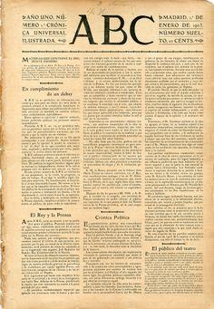 1 de enero de 1903 y 10 céntimos de precio.