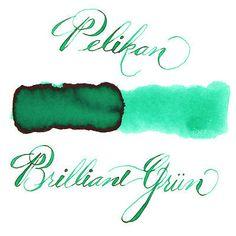 Pelikan 62.5 ml Bottle 4001 Fountain Pen Ink, Brilliant Green