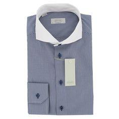 Eton - Eton Shirt - Blue Stripe - Contemporary Fit