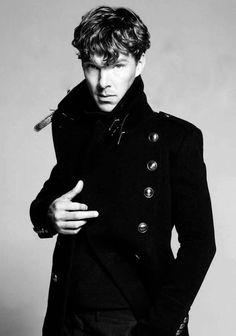 Benedict Cumberbatch - apparently they photograph all extremely hot men in this coat.