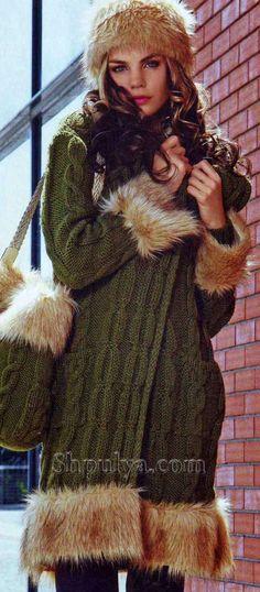 c41e18dca4d Зеленое пальто  лучшие изображения (17)