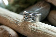 Steam Punk Style Sterling Silver Ring by Chicksinthestixs on Etsy, $43.00