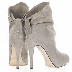 Amazing grey high heels! Totally you @Christine