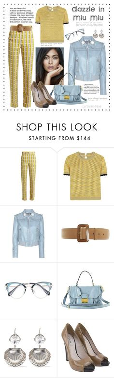 """Nothing but Miu Miu - Contest"" by sarina-noel ❤ liked on Polyvore featuring Miu Miu"